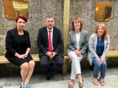 Louise Haigh has met with the Ballymurphy families (PA)