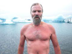 'The Iceman' Wim Hof (BBC/PA)