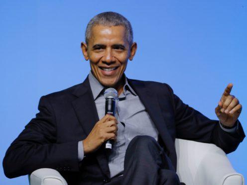 Former US president Barack Obama (Vincent Thian/AP)