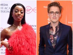 AJ Odudu and Tom Fletcher are among the contestants for this year's Strictly Come Dancing (PA).