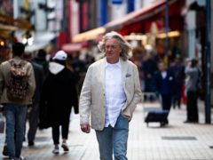 James May filming his first travelogue for Amazon Prime Video in Japan.