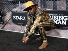 Rapper DuBaby has been dropped from the line-up of the Lollapalooza music festival in Chicago over homophobic remarks (Charles Sykes/Invision/AP)