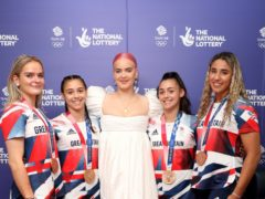 Anne-Marie says she is inspired by the Team GB Olympic athletes (Tristan Fewings/The National Lottery's Team GB Homecoming Event/PA)