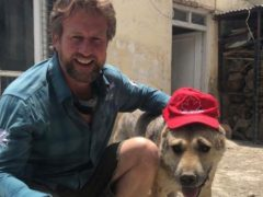 Pen Farthing, the founder of Nowzad, is urging the Government to rescue his staff and the charity's animals as the Taliban seize control of Kabul (Nowzad/PA)