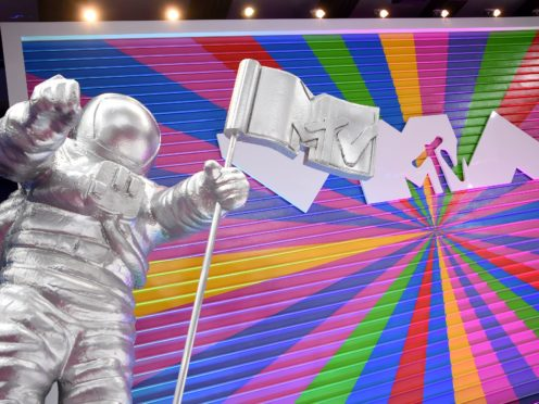MTV relaunched its famous astronaut image to celebrate its 40th birthday (Evan Agostini/Invision/AP)