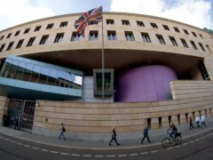 Exterior view of the British embassy in Berlin, Germany (Michael Sohn/AP)