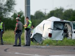 The accident took place near the Brooks County community of Encino (The Monitor/AP)
