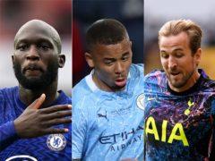 Romelu Lukaku, Gabriel Jesus and Harry Kane were all involved in this weekend's Premier League talking points (PA)