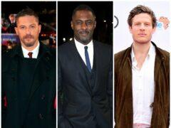 Tom Hardy, Idris Elba, James Norton are among the favourites to be named the new James Bond (Jonathan Brady and Ian West/PA)
