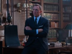 Daniel Craig has revealed he celebrated winning the James Bond role by getting drunk alone on vodka martinis (Nicola Dove/MGM/PA)
