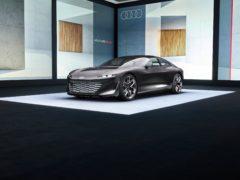 The Grandsphere showcases the future of Audi luxury models
