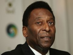 Pele has revealed he is recovering 'very well' following surgery to remove a tumour earlier in September (Yui Mok/PA)