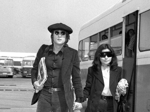 John Lennon and Yoko Ono (Archive/PA)