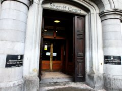 Shaun Rimmer appeared at Aberdeen Sheriff Court (Andrew Milligan/PA)