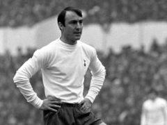 Jimmy Greaves had a successful career at Tottenham (PA)