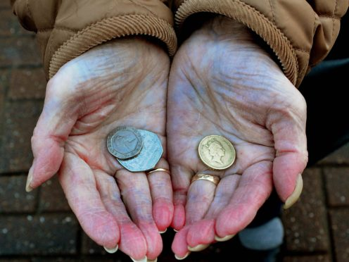 Experts have warned that pension savers could unwittingly cut off their entitlement to certain benefits and other financial help by releasing cash from their retirement pots (Rui Vieira/PA)