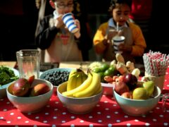 Children who eat more fruit and veg have better mental health, a study has said (Anthony Devlin/PA)
