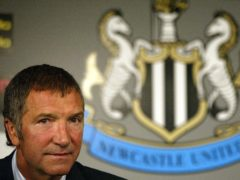 Newcastle appointed Graeme Souness as Sir Bobby Robson's successor in September 2004 (Owen Humphreys/PA)