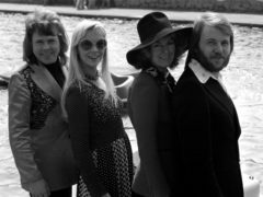 Abba won the Eurovision Song contest in Brighton (PA)