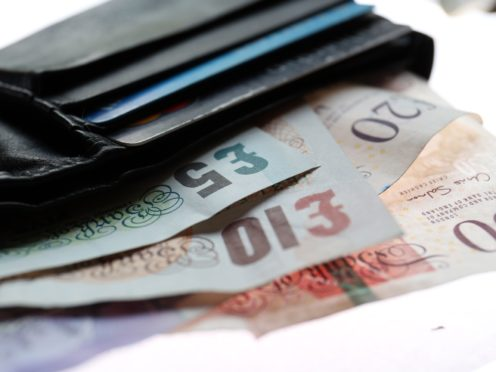 A cost of living crunch is set to place people's wallets under pressure (Chris Radburn/PA)