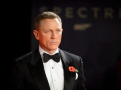 Daniel Craig pictured at the world premiere of Spectre, at the Royal Albert Hall in London in 2015 (Matt Crossick/PA)