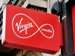 More customers complained about Virgin Media in the first three months of 2021 than any other provider, Ofcom said. (Nick Ansell/PA)