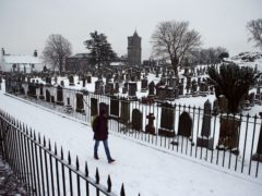 Funeral restrictions were in place for several months during the Covid-19 pandemic (Andrew Milligan/PA)