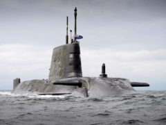 A submarine (Ministry of Defence/PA)
