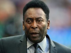 Pele is reportedly back in an intensive care unit (Nigel French/PA)