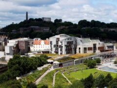 The Covid-19 Committee at Holyrood took evidence on the scheme (Jane Barlow/PA)