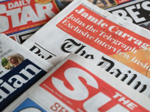 What the papers say – September 24 (PA)