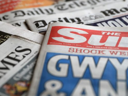 What the papers say – September 5 (PA)