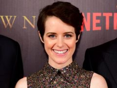 Claire Foy has won a guest actor Emmy for her role as The Queen (Ian West/PA)