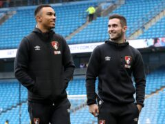 Bournemouth midfielders Junior Stanislas, left, and Lewis Cook have been able to resume some training (Martin Rickett/PA)