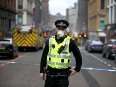 The assault took place on Sauchiehall Street in Glasgow (Jane Barlow/PA)