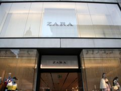 Inditex, owner of fashion chain Zara, has revealed record trading as stores worldwide reopen (Yui Mok/PA)