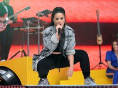 Demi Lovato (Isabel Infantes/PA)