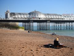 The run finished near Brighton Pier (Kirsty O'Connor/PA)