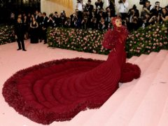 Cardi B was among the stars walking the carpet at the 2019 Met Gala – the event is back after a year out due to the pandemic (Jennifer Graylock/PA)