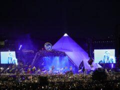 Glastonbury pyramid stage (Aaron Chown/PA)