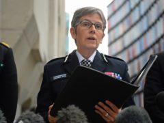 Metropolitan Police Commissioner Cressida Dick. (Kirsty O'Connor/PA)
