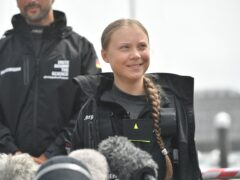 Climate activist Greta Thunberg has criticised world leaders (PA)
