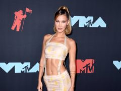 Model Bella Hadid said she has been vaccinated amid speculation surrounding her absence from the Met Gala (PA)