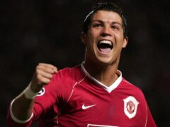 Cristiano Ronaldo returned to Manchester United last month (Martin Rickett/PA).