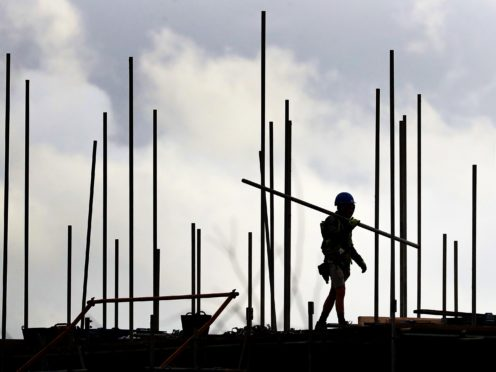Builder Galliford Try has seen a return to profit and said it is successfully managing material shortages and price hikes amid supply chain problems. (Gareth Fuller/PA)