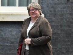 Therese Coffey said the fund will help vulnerable households (Dominic Lipinski/PA)
