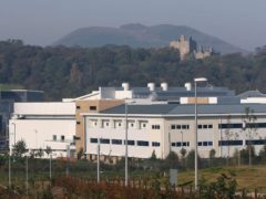 The injured people were taken to Edinburgh Royal Infirmary (David Cheskin/PA)
