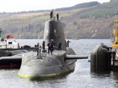 A Royal Navy Astute class submarine (LPhot Pepe Hogan/MoD/PA)