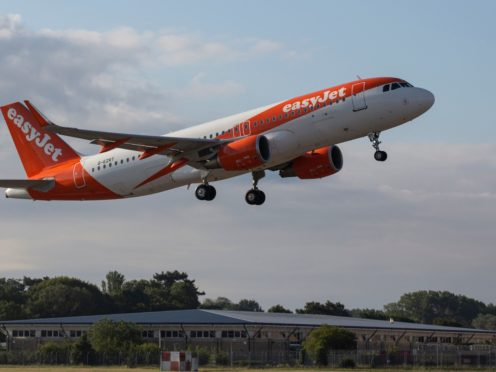 Ministers 'missed the boat' by waiting until after the summer holidays for the latest easing of travel rules, easyJet has claimed (Matt Alexander/PA)