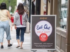 UK inflation has surged to its highest for more than nine years after a record jump in August as restaurant and cafe prices raced higher following last summer's hefty discounts under the Eat Out to Help Out scheme (Dominic Lipinski/PA)